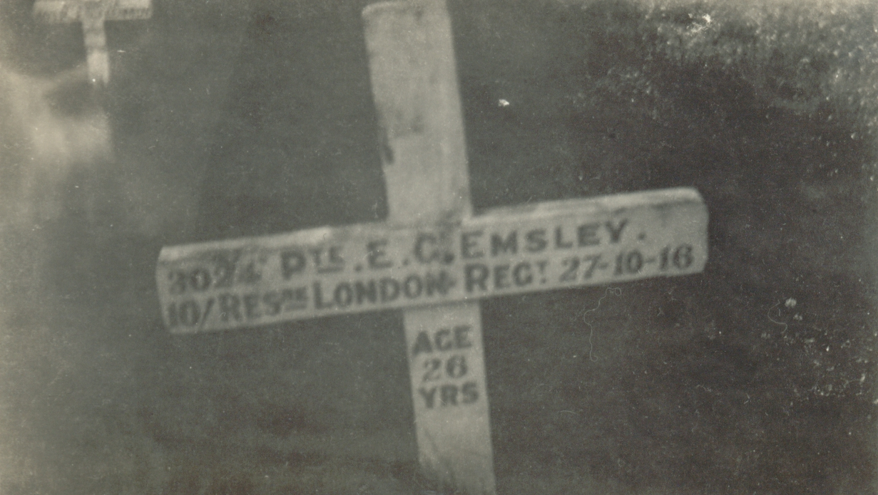 Edward Emsley - orginial cross